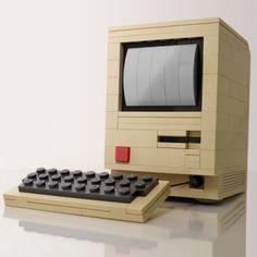 25 gadgets retro, en geniales montajes de Lego