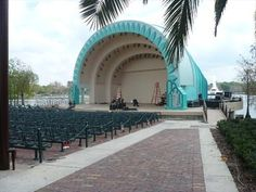 The Walt Disney Amphitheater at Lake Eola is one of the most lucrative performing spaces in Central Florida, for both its patrons and talent. Surprisingly, its acoustics and layout aren't terribly conducive for quality artistic experiences but the fresh air, ambiance and natural beauty is hard to surpass.