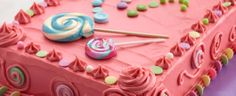 Duncan Hines® Bubble Gum Candy Cake