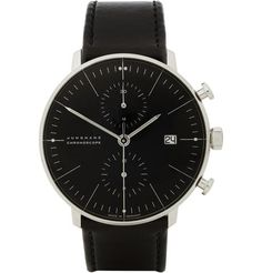 Junghans X Max Bill stainless Steel Automatic Chronograph Watch | mr. Porter