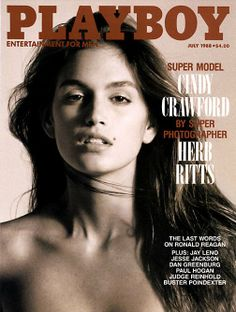 Vintage Cindy Crawford : PLAYBOY magazine