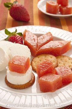 Пастила из айвы Cornbread, Dips, French Toast, Cheesecake, Deserts, Goodies, Strawberry, Sweets, Cream