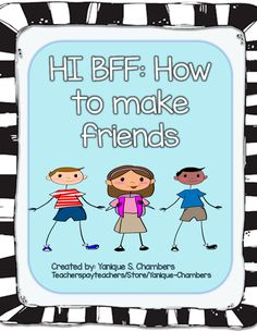 Teaching kids the important social skill of how to make friends.