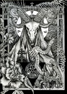 Drawing for a buddy in Finland! Fineliner drawing by Ex Inferis Art. Visit: https://www.facebook.com/exinferisart/  Exinferis, Occult, thelema, serpent,spiritual, morbid dark art, skulls