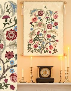 """William Morris in Quilting: Quilt Gallery and Patterns. """"Portiere."""" See Michele Hill's patterns, easier to find in the US now."""