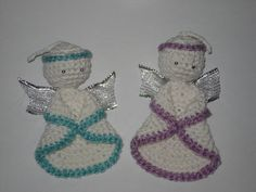 Haken - engeltjes Crochet - little angels