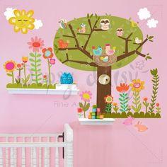 Bloomin' Birdies. Woodland Wonderland!!