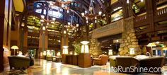 The Grand Californian Hotel - conveniently located in Downtown Disney, perfect for runDisney races. | HelloRunShine.com
