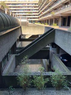 London Architecture, Urban Architecture, Concept Architecture, Brutalist Buildings, Deconstructivism, Exposed Concrete, Basin Mixer Taps, London House, Barbican
