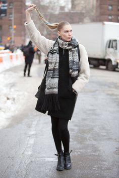 NYC Street Style  - ELLE.com