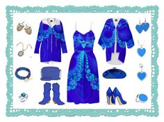 "My ""Mary's Veil"" Fractal Dress, Kimono & Raincoat by artist4god-rose-santuci-sofranko on Polyvore featuring polyvore, fashion, style, Brian Atwood, Qupid, Michael Kors, Versace, Mary Margrill and Sweet Romance"