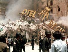 30 Imágenes para nunca olvidar la tragedia de 1985 en México