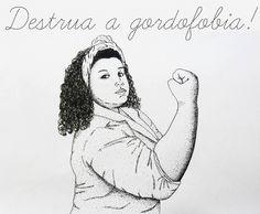 20 páginas anti-gordofobia que você precisa conhecer !