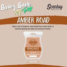 Scentsy  Bring Back My Bar 2016 Amber Road