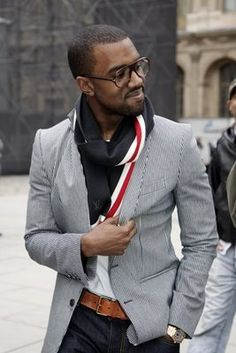 The Fashion Bomb Blog /// All Urban Fashion...All the Time: Men's Fashion Flash: Kanye West