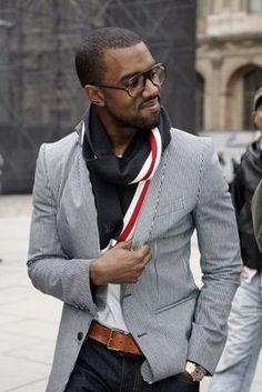 The Fashion Bomb Blog /// All Urban Fashion...All the Time: Men's Fashion Flash: Kanye West