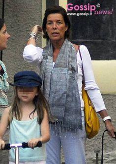 Carolina di Monaco a Portofino - Foto e Gossip