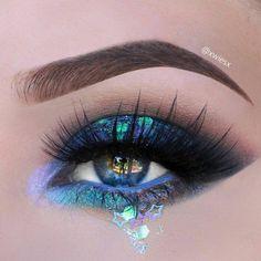 Makeup Eye Looks, Beautiful Eye Makeup, Eye Makeup Art, Pretty Makeup, Makeup Geek, Eyeshadow Makeup, Makeup Inspo, Eyeshadows, Maquillage Yeux Cut Crease