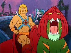 He-Man e Gato Guerreiro