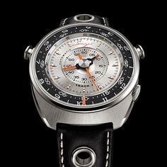 Singer Track 1 Launch Edition, a radical focus on legibility through the centralized display of all the chronograph functions thanks to a revolutionary movement. Singer Vehicle Design, Porsche 911 S, Elapsed Time, Retro Design, Calf Leather, Chronograph, Track, Product Launch, Display