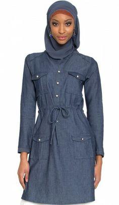 c7e81394c7 Stylish Long Modest Islamic Tunic Tops Tunic Dresses Kurtis
