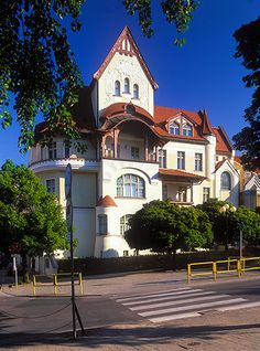 Olsztyn, kamienica Naujaka Poland Cities, Tatra Mountains, Europe, Prussia, Krakow, Warsaw, National Parks, Architecture, House Styles