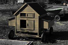 Chicken Hen house in my garden Guido Frilli  #recuperando.com