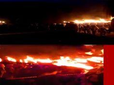 2010 Fire Festival on Jeju Island, South Korea