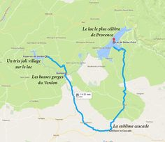 Amazing Routes in the Verdon Gorge Road Trip France, France Travel, Southern France, Voyage Europe, Camping Spots, Seen, Provence France, Summer Travel, European Travel