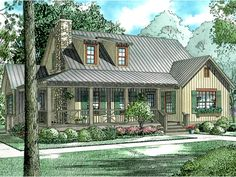 Dutch House Plan with 1472 Square Feet and 4 Bedrooms from Dream Home Source | House Plan Code DHSW56231