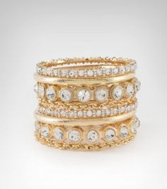 8. a glam piece of jewelry   #bebe and #wishesanddreams