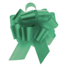 Emerald Flora-Satin Pull Bows 5.5' Case of 50 -- Click image to review more details.
