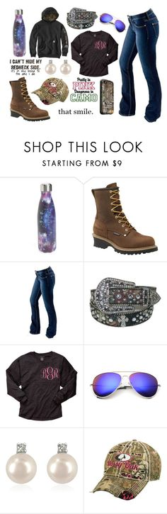 """Happy Happy Happy, I Wish Jason Would Like Me"" by im-a-jeans-and-boots-kinda-girl ❤ liked on Polyvore featuring S'well, Carolina, Bullet, Forzieri, LifeProof and Realtree"