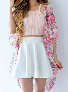 Dress outfits for teens crop tops trendy Ideas Cute Skirt Outfits, Really Cute Outfits, Crop Top Outfits, Girly Outfits, Cute Casual Outfits, Pretty Outfits, Dress Outfits, Midi Dresses, Jean Outfits