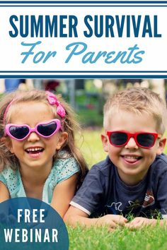 For smart parenting strategies, check out my free Summer Survival Skills For Parents course! Survival List, Survival Prepping, Survival Skills, Emergency Preparedness, List Of Skills, Family Activities, Summer Activities, Summer Kids, Child Development