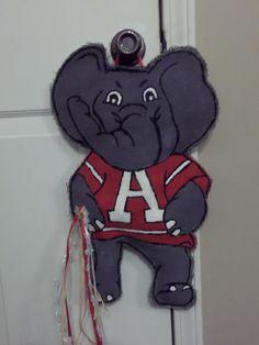 Alabama Burlap Door Hanger. $30.00, via Etsy.