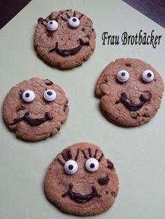 Frau Brotbäcker: Lachende Kekse