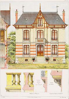 Petite maison bourgeoise à La Briche