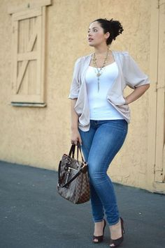 Summer casual work outfits ideas for plus size 26