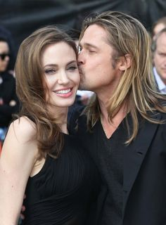 Angelina Jolie - Brad Pitt and Angelina Jolie arrive for the world premiere of World War Z at The Empire Cinema in London