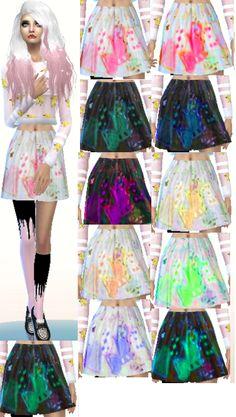 welcome to the freak show | sims 4 Lolita skirt o3o