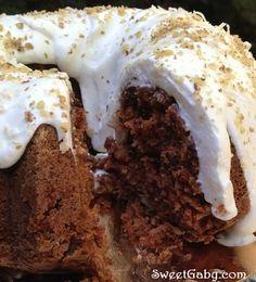 El Blog de Sweet Gaby: Carrot Bundt Cake / Tarta de Zanahoria con Glaseado de Queso