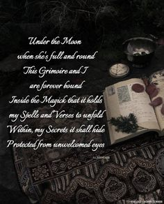Under the Moon. Wiccan Spells, Magic Spells, Witchcraft, Wiccan Quotes, Witch Spell, Pagan Witch, Witches, Durga, Yule
