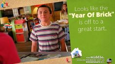 """Last year was the """"Year Of Sue,"""" could this year be the """"Year Of Brick?"""" Watch #TheMiddle season premiere on Wednesday to find out!"""