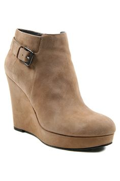 DKNY boots   booties in camel - posted by Marina Larroude on Style