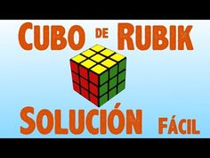 Resolver el cubo de Rubik (solución fácil)