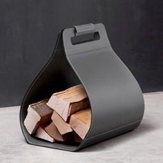 Dafne Firewood Bag with Velcro Closure
