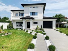 Proiect Casa Rezidentiala Galati – Profile Decorative Design Case, Home Goods, Profile, House Design, Mansions, Merlin, House Styles, Houses, Home Decor