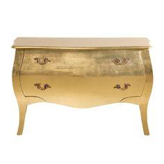 Commode Romantic Gold Leaf Big  http://www.homelisty.com/destockage-reduction-home24/