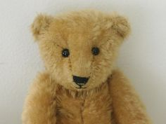 Dennis NOT a menace by teddybearswednesday on Etsy Inspired by an early steiff blank button bear